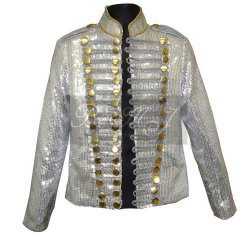 Michael Jackson HIStory Tour Jacket with White Sequin