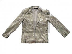 Michael Jackson Billie Jean Jacket with Silver Sequin