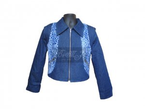Michael Jackson Thriller Actress Blue Jacket