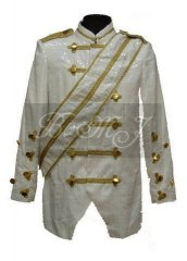 Michael Jackson Victory Tour Jacket White Sequins