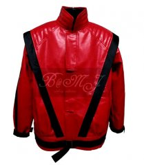 Michael Jackson Thriller Jacket in Red