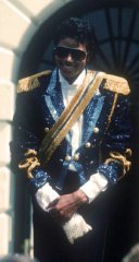 Michael Jackson 84' White House Award Jacket with Sequin