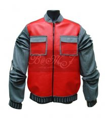 Back To The Future BTTF Marty McFly Jacket at 2015 in Red