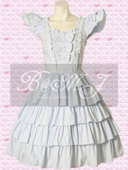 Short Sleeves Multi Tiers Sweet Lolita Dress