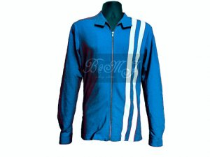 Elvis Presley Speedway Jacket in Blue