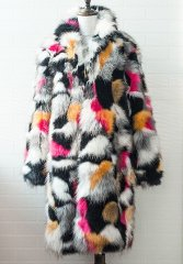 BigBang G Dragon Good Boy Mixed Fur Jacket