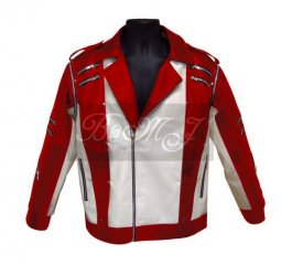 Michael Jackson Pepsi Commercial Jacket in Red