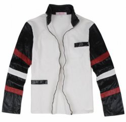 Bruce Lee Casual black and white Jacket