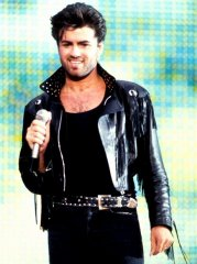 George Michael Wham! Final Concert Fringed Black Jacket