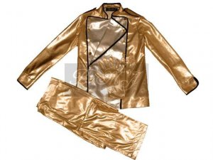 Michael Jackson HIStory Tour Outfit Set in Gold