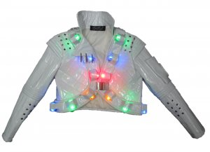 Michael Jackson Captain EO LEDs Lights Jacket