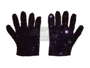 Michael Jackson AMA 84' Glove with Black Sequin