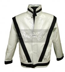Michael Jackson Thriller Jacket in White