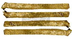 Michael Jackson Style Gold Sequin Belts Set