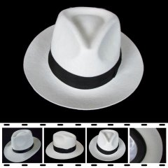 Michael Jackson Smooth Criminal Deluxe White Hat