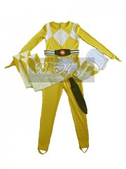 Power Rangers Yellow Ranger Jumpsuit Set