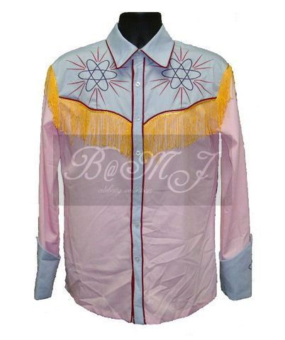 Back To The Future Part 3 BTTF Marty McFly Shirt in 1885 Western - Click Image to Close