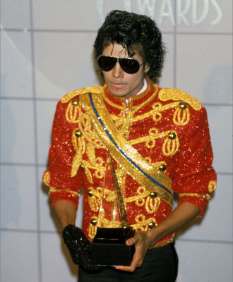 Michael Jackson AMA 84' Black Sequin Glove