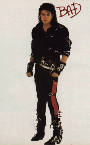 Michael Jackson Bad  Black Trousers