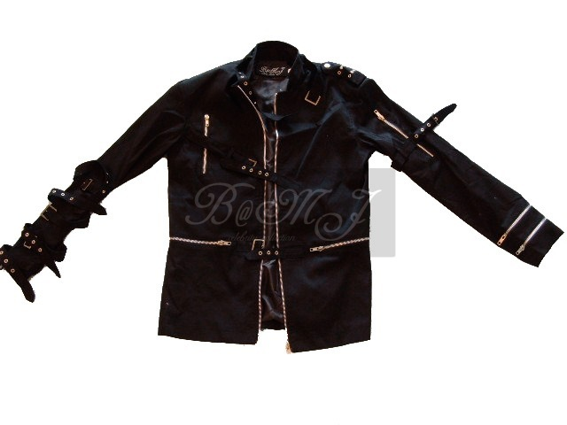 Michael Jackson Bad Jacket in Black