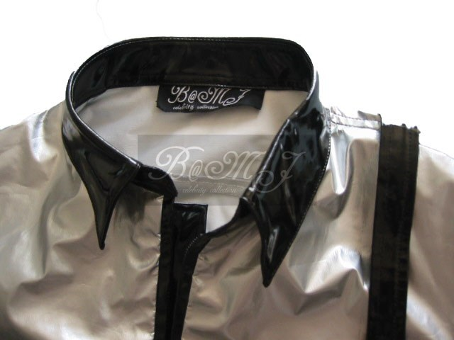 Michael Jackson Bad Tour Jacket in Silver