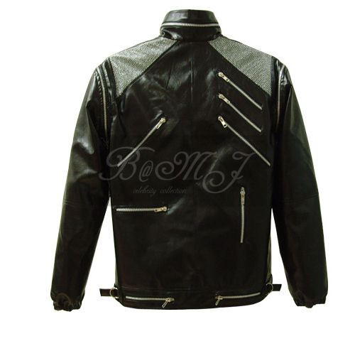 Michael Jackson Beat It Jacket in Black