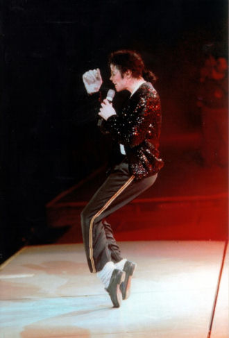 Michael Jackson Billie Jean Gold Sequin Trousers