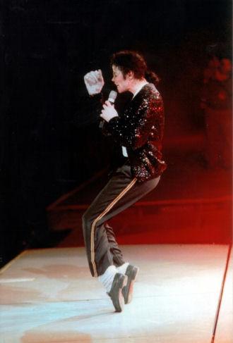 Michael Jackson Billie Jean Gold Sequin Trousers