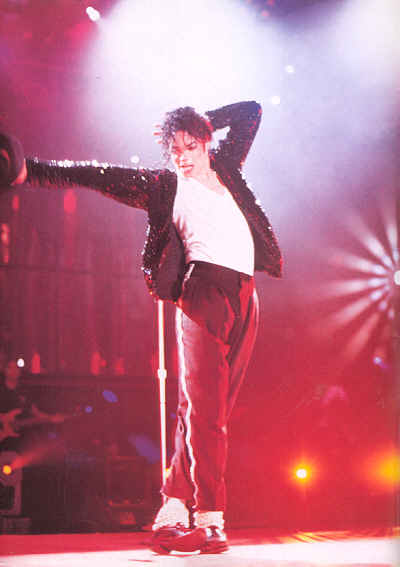 Michael Jackson Billie Jean Silver Sequin Trousers