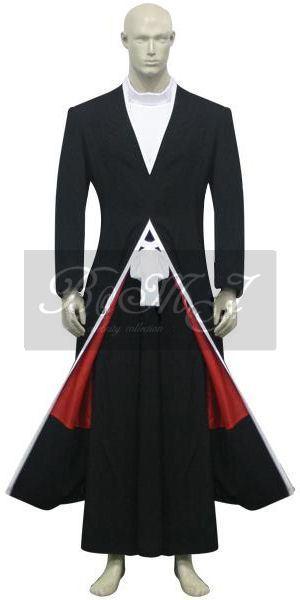 Bleach Kurosaki Ichigo Bankai Form Cosplay Costume