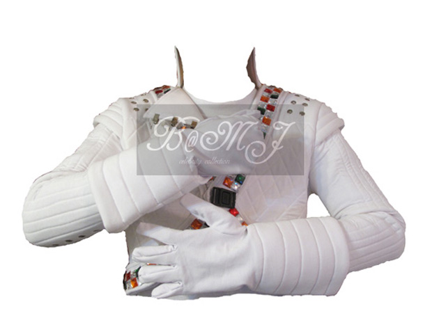 Michael Jackson Captain EO Gloves