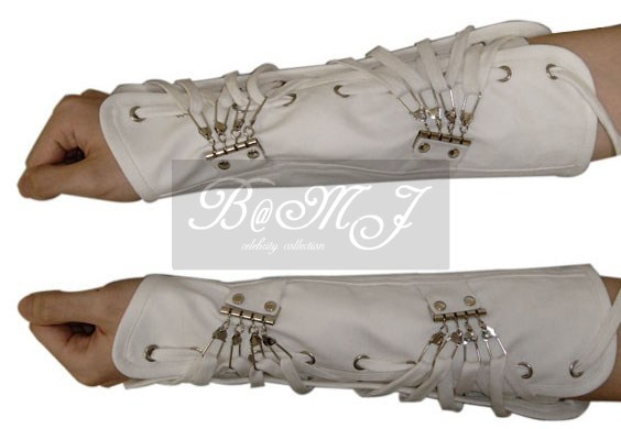 Michael Jackson Dangerous Tour White Arm Brace