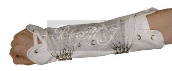 Michael Jackson Dangerous Tour Arm Brace in White
