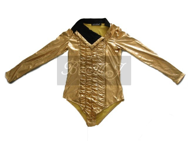 Michael Jackson Dangerous Tour Leotard Gold