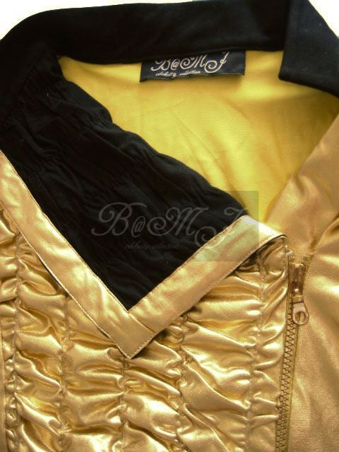 michael jackson dangerous tour leotard gold dangerous