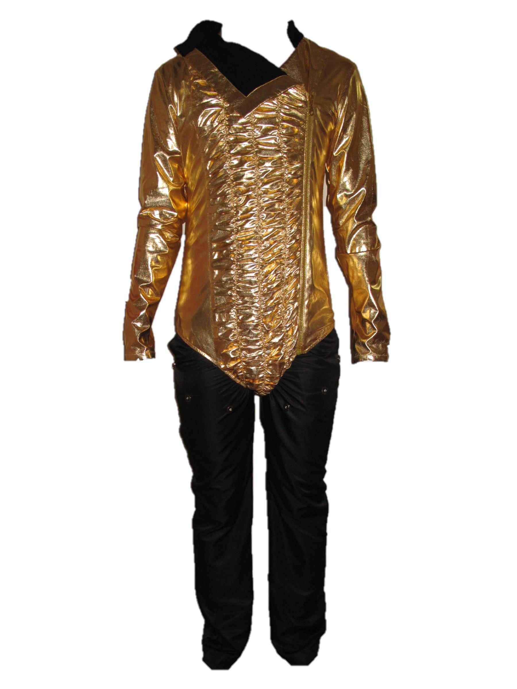 Michael Jackson Dangerous Tour Leotard Black Pants