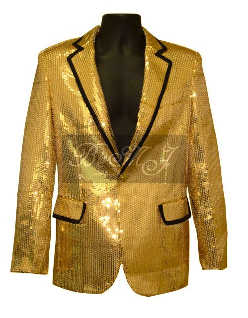 Elvis Presley 1968 Comeback Gold Lame Costume Jacket