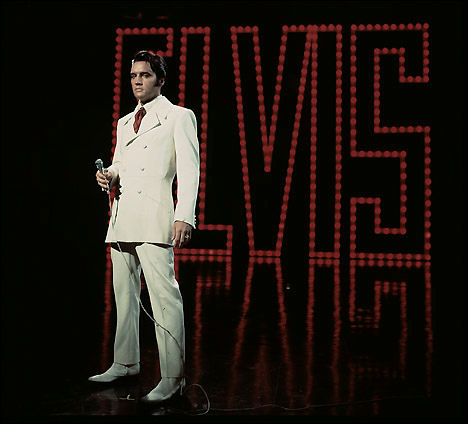 Elvis Presley '68 Com Back If I Can Dream Outfit in Full