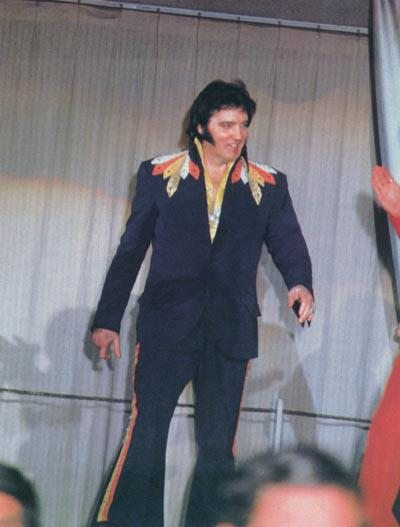 Elvis Presley Blue Flying Outfit