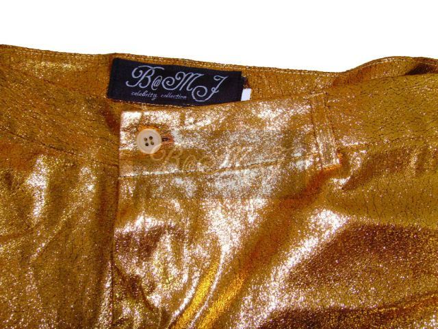 Elvis Presley Gold Lame Costume Trousers