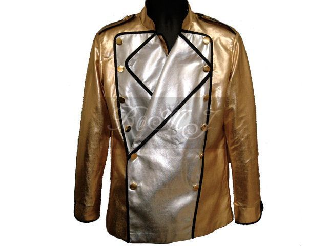 Michael Jackson HIStory Tour Gold Jacket
