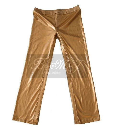 Michael Jackson HIStory Trousers in Gold