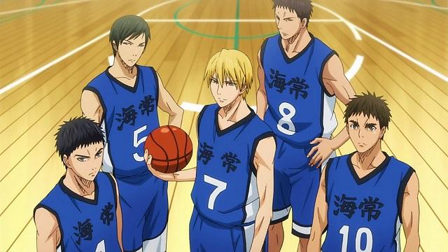 Kuroko's Basketball Kaijo High Away No.7 Ryota Kise Jersey