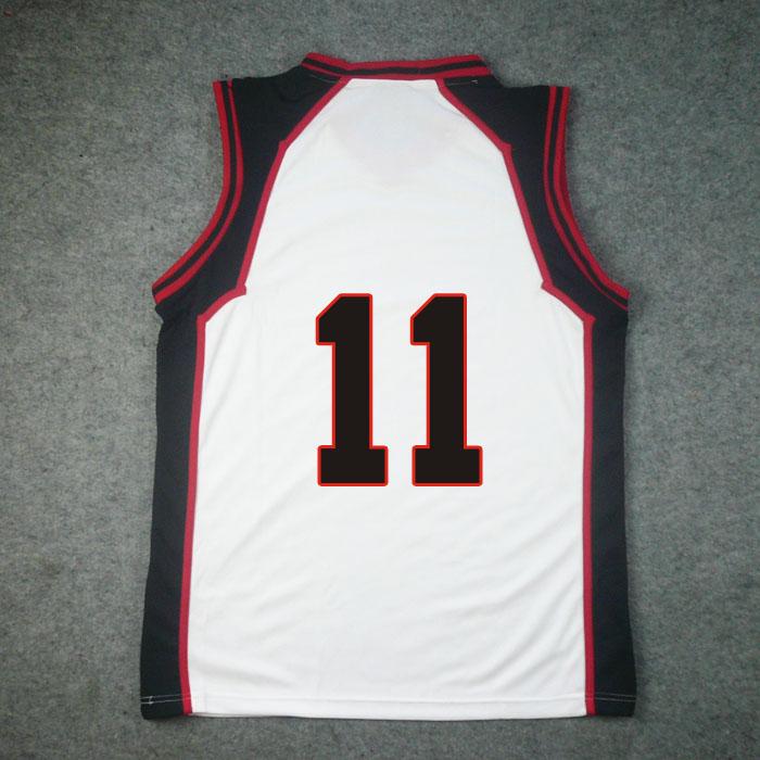 Kuroko's Basketball Seirin High Home No.11 Kuroko Tetsuya Jersey