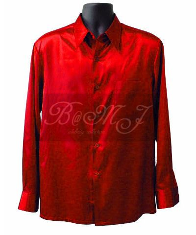 Michael Jackson Liberian Girl Shirt in Red