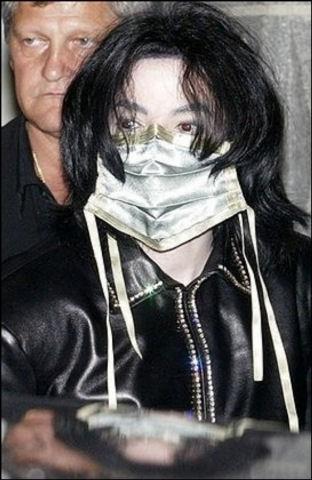 Michael Jackson Silver Mask