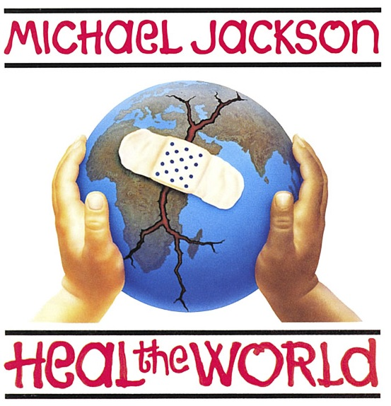 Michael Jackson Heal the World T shirt