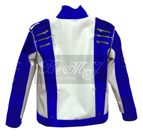 Michael Jackson Pepsi Commercial Jacket in Blue