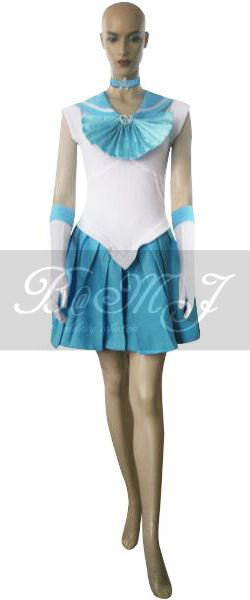 Sailor Moon Amy Mizuno Sailor Mercury Cosplay Costume