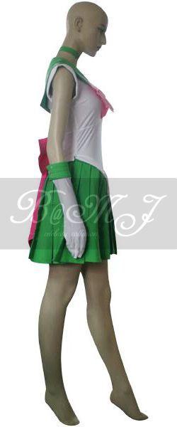 Sailor Moon Lita Kino Sailor Jupiter Cosplay Costume